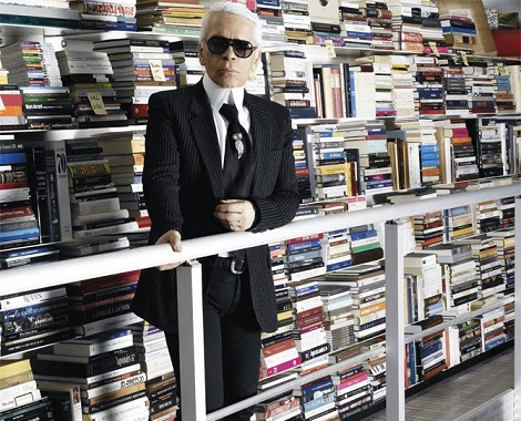Karl Lagerfeld library