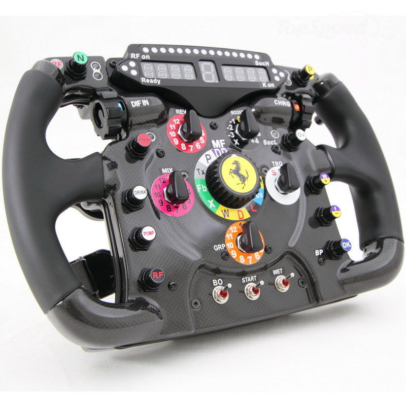 Ferrari steering wheel replica