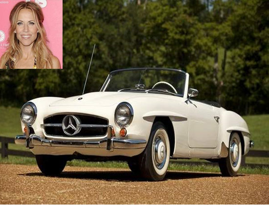 Sheryl Crow 1959 Mercedes Benz