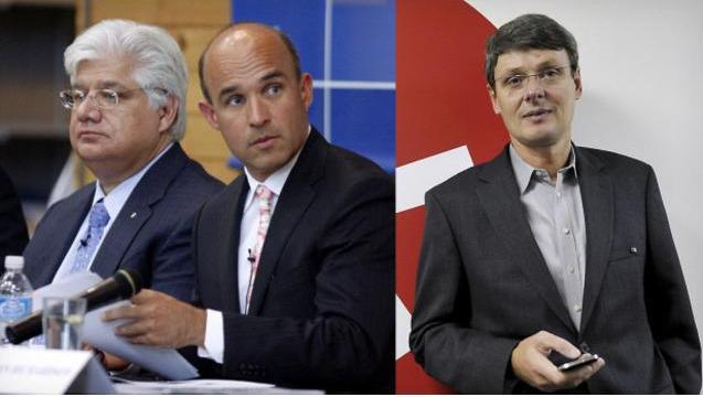 RIM Jim Balsillie mike lazardis thorsten heins