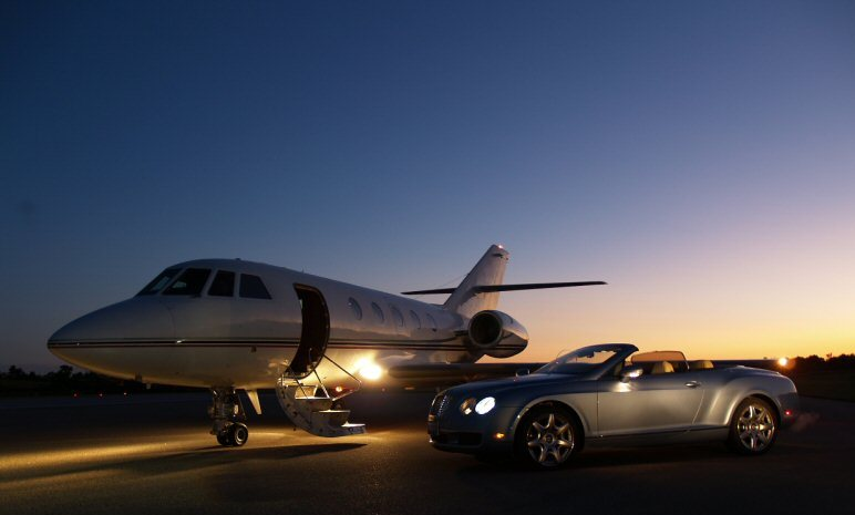 Private Jet And Limo  Wwwimgarcade  Online Image Arcade